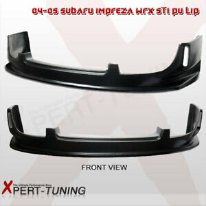 Fit For 04 05 Subaru Impreza Wrx Front Bumper Lip Spoiler