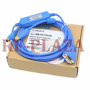 Usb 1747 cp3 usb 1761 cbl pm02 kit cable rs232 for ab microlonix slc plc win7