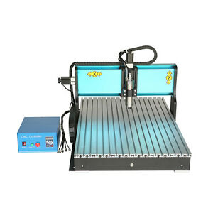 Ston 110v 1500w 3 Axis Cnc 6090 Router Engraving Milling Machine Parallel Port