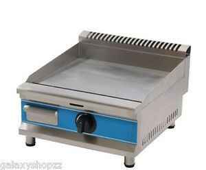 New Commercial Counter Top Stainless Steel Lpg Gas Griddle Gas Hot Plat