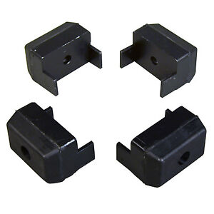 4 pack Arm Clamp Pads Jaw Covers For Hunter Butler Tire Changers Rp6 0066