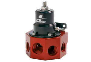 Aeromotive Carburated A2000 Fuel Pressure Regulator 4 Port W Bypass 13202