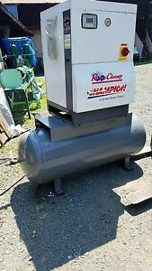 Gardner Denver Champion Rotor Champ Air Compressor