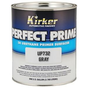 Kirker Perfect Prime Urethane Primer 2k Gray Gallon Made In Usa Kp Up732