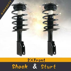 Front Shocks Struts Springs Assembly Pair For 06 11 Buick Lucerne Cadillac Dts