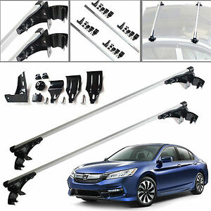47 Car Top Luggage Cross Bar Roof Rack Carrier Skidproof For Honda Accord Civic
