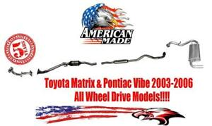 2003 toyota matrix muffler in stock replacement auto auto parts ready to ship new and used. Black Bedroom Furniture Sets. Home Design Ideas