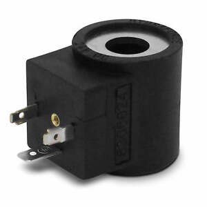 Hydraforce 6306024 Solenoid Valve Coil 3 Prong Din Connector 24v Dc Series 08