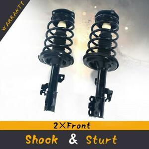 2 Front Complete Shocks Struts Springs For 2004 2006 Toyota Camry