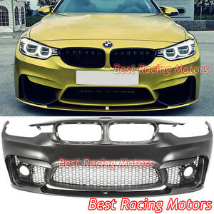 M3 F80 Style Front Bumper Performance Style Front Lip Fit 12 18 Bmw F30 F31