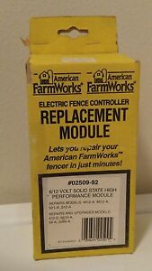 American Farm Works Zareba Electric Fence Controller Replacement Module 02509 92