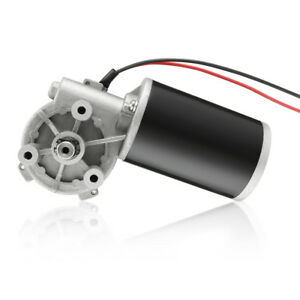 Jcf63r Dc 12v 60w High Torque Reversible Electric Gear Motor 60rpm