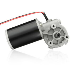 Jcf63l Dc 36v 80w High Torque Reversible Electric Gear Motor 40rpm