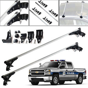 2x 47 Car Luggage Top Cross Bar Roof Rack Carrier For Chevy Silverado 1500 2500