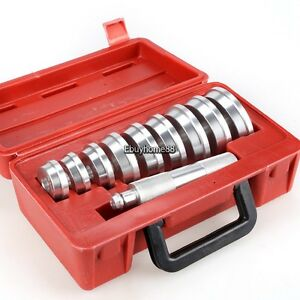 Portable Bearing Race Seal Driver Install Tools Wheel Axle Bearing Puller Set