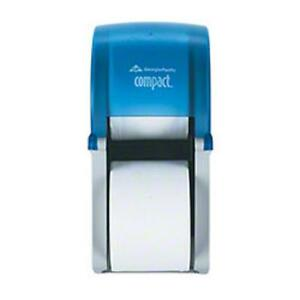 Gp 56789 Compact Double Roll Bathroom Tissue Toilet Paper Dispenser Lot Of 4