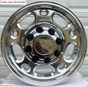4 New 16 Chevy Silverado Express Van Wheels Rims 2500 3500 Hd Duramax 24001