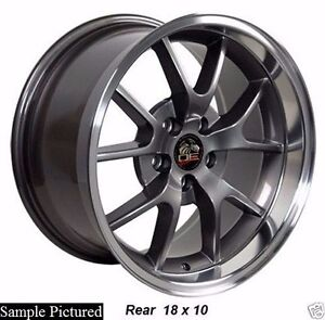 1 New 18 Wheels Rims For Ford Mustang 2000 2001 2002 2003 2004 Rim 1980