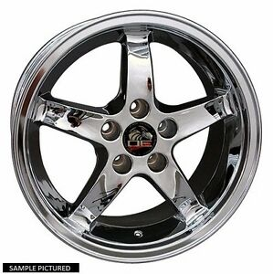 1 New 17 Wheels Rims For 1995 1996 1997 1998 1999 Mustang Cobra R Wheel 1158