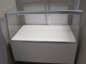 Jewelry 40 Store Retail Commercial Glass Gray Display Case Showcase A Drawer