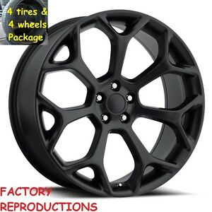 Fits 22 300 C Hankook Tire Wheel Package Black Challenger Charger Magnum Rims