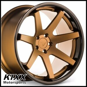 20 Ferrada Fr1 20x9 10 5 Bronze Concave Wheels For Ford Mustang Gt Gt500 Shelby