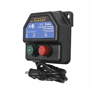 Electric Fence Charger Farm Horses And Cattle Adjustable Control High power New