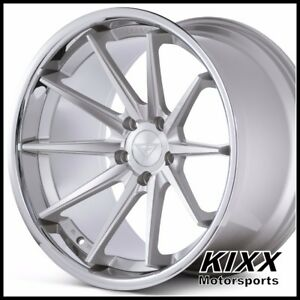 20 Ferrada Fr4 20x9 10 5 Silver Concave Concave Wheels For Lexus Isf
