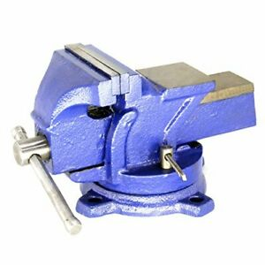 Hfs 4 Heavy Duty Bench Vise 360 Swivel Base With Lock