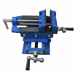 3 cross Slide Vise Drill Press Metal Milling 2 Way Heavy Duty Clamp Machine