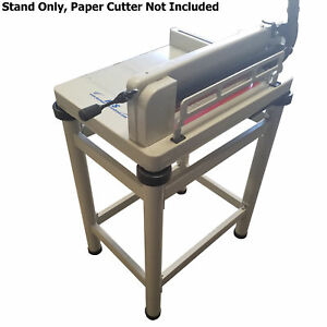 Hfs r Paper Cutter Table Stand For 17 Guillotine Paper Cutter