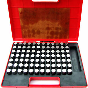 Hfs r Steel Pin Gauge Set 84pcs M6 833 916 Class Zz