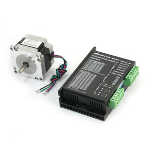 Nema23 4 Lead Cnc Router Robot Stepper Motor 41mm 2a 78oz in W Mb450a Driver