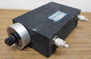 Telonic Berkley Ttf95 5 5ee Manually Tuned Bandpass Filter Ttf 63 125 Mhz