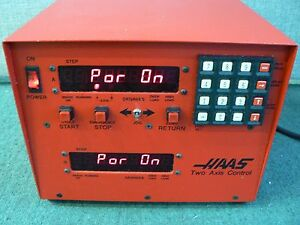 Haas Two Axis Control Box 4th 5th Cnc Mill Rotary Table Indexer Hrt 210 Ha5c Red