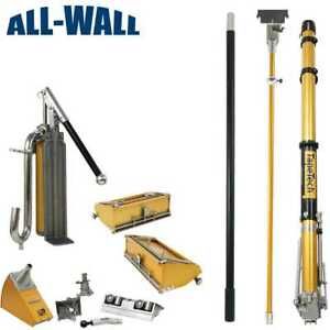 Tapetech Pro Value Drywall Taping finishing Set W taper 10 12 Boxes All Tools