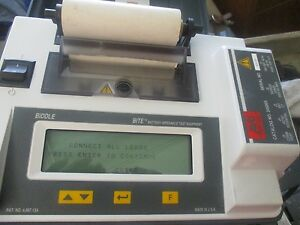 Avo Biddle Division Model 246005 Battery Impedance Test Equipment Bite