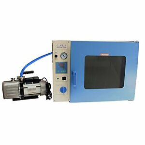 Hfs 1 9 Cuft Stainless Vacuum Oven 10 Shelves Led Lights Vac Pump