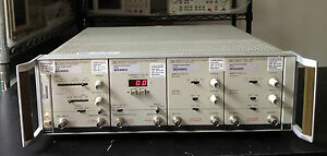 Hp agilent 8080a 8081a 8092a 2x 8083a Pulse Generator System Tested