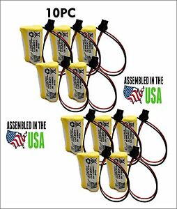10pc Lithonia Elb b001 elbb001 Replacement Emergency Light Battery