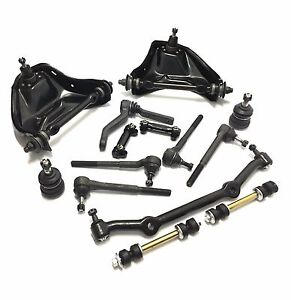 14pc New Suspension Kit For Gmc Isuzu Chevy Blazer S10 Control Arms Ball Joints