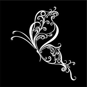 Butterfly Vinyl Car Decals Sticker Graphics Choice Of Sizes And Colors