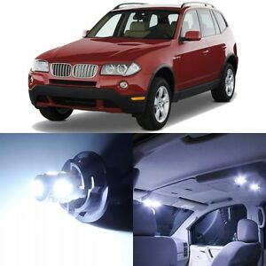 17 X Canbus Xenon White Interior Led Lights Package For 2004 2010 Bmw X3 Tool