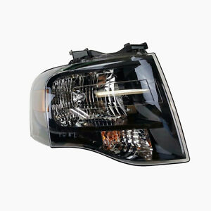 Oem New 2007 2014 Ford Expedition Black Housing Headlight Right Hand Passenger