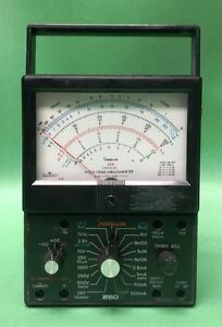 Vintage Simpson 260 Series 6xl Multi Meter Volt ohm milliammeter