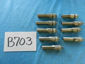 Zimmer Surgical Orthopedic Reamers Lot Of 9