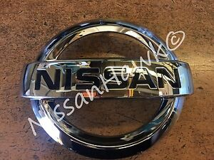 New Oem Nissan 2014 2017 Versa Note Front Grille Emblem Only Fits Note