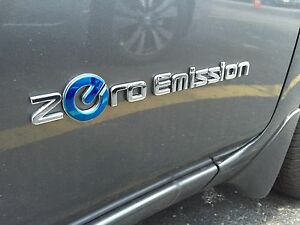New Oem 2013 2015 Nissan Leaf Side Door Emblem zero Emission