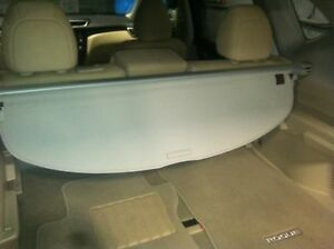 New Oem Nissan Rogue 2014 2016 Grey Rear Cargo Tonneau Cover Retractable
