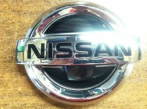 New Oem Nissan Rogue 2012 2013 Front Grille Emblem With Front Facing Camera